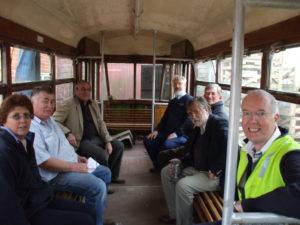 tram arrival