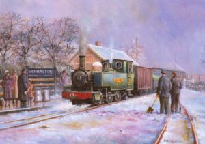 SRT Christmas card Wenhaston