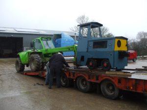 Motor Rail arriving 2