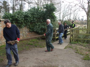 Carrying an even longer rail at Halesworth