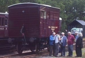 The Middy's rebuilt 1869 GER Horsebox - the quality that the Rolling Stock Group is aiming for