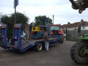 Motor Rail Loco arrives