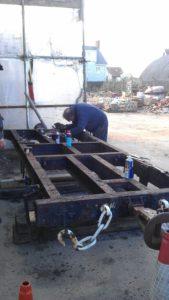 Dismantling starts