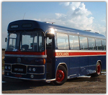 Our luxurious 1960s coach