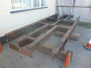 Wagon 41 underframe - doesn't look much now!