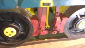 Brakes, refitted and adjusted up