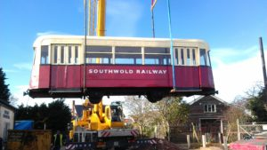 Coach 7 leaves Southwold