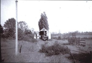 The shed from the west - after closure - Teddy Boston collection