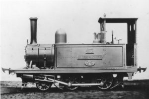 Blyth's sister locomotive Halesworth