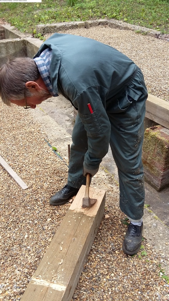 More industrial archaeology – and historic features restored