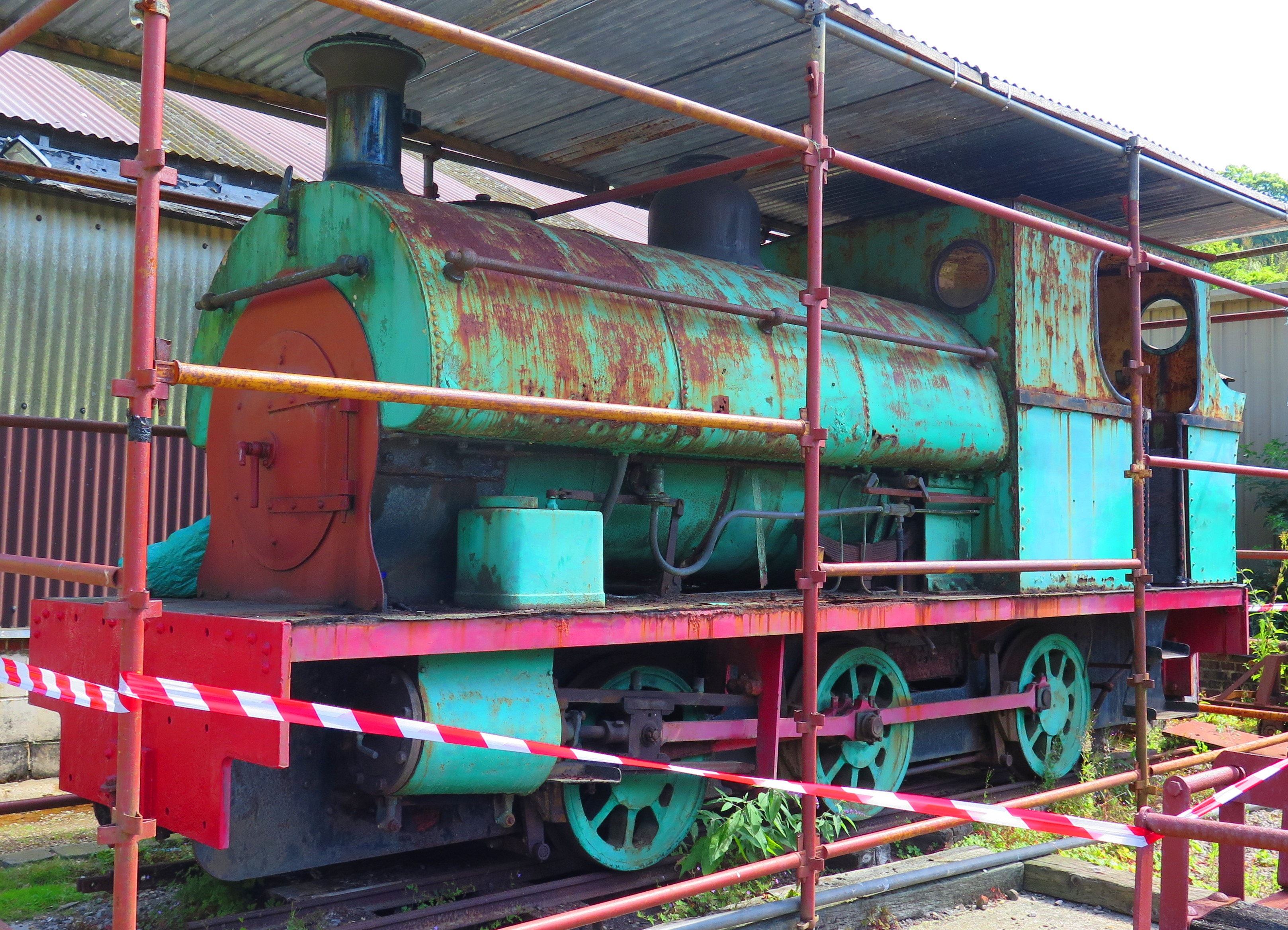 A steam locomotive for the Trust