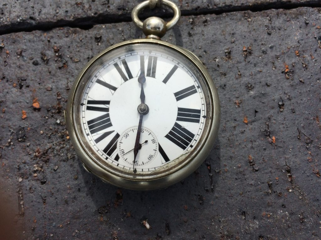 A working Southwold Railway pocket watch just acquired.